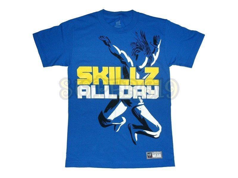 """SUPER619 WWE Kofi Kingston """"Skillz All Day"""" T-Shirt T恤"""