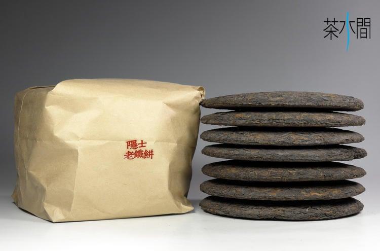 茶舖-8,500克,隱士老鐵餅,老普洱茶,稀有藥香,通過農藥殘留檢驗測試合格,健康養生,一定瘦作者黎時國〔老茶房〕推薦