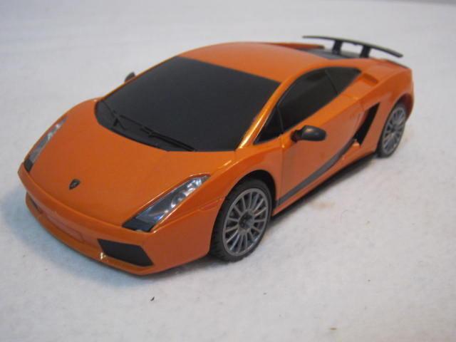 【KENTIM 玩具城】1:24(1/24)全新藍寶堅尼(藍寶基尼)橙橘色擬真烤漆原廠授權遙控車(RASTAR公司貨)