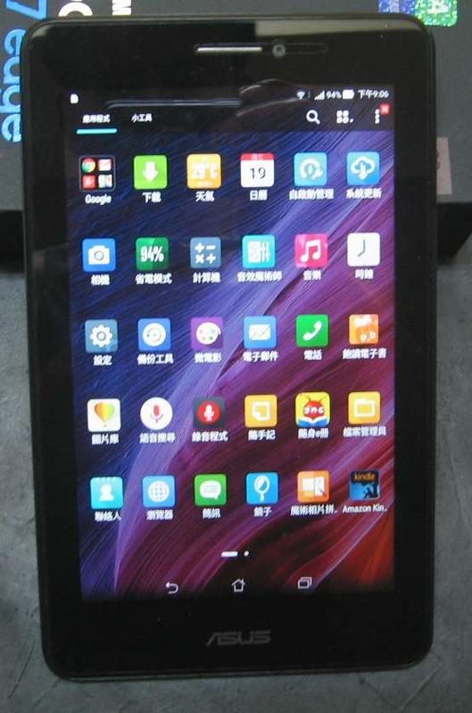 【東昇電腦】ASUS Fonepad 7 ME175CG K00Z 七寸可通話平板
