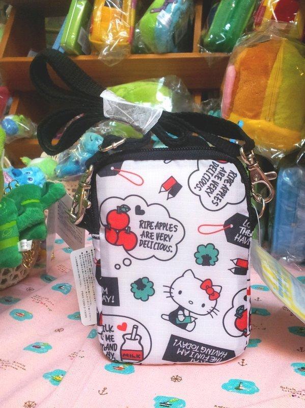 日本Sanrio 三麗鷗Hello Kitty復刻版手機包◆相機包♪收納包★真是實用又卡哇伊* 日本正版商品 *