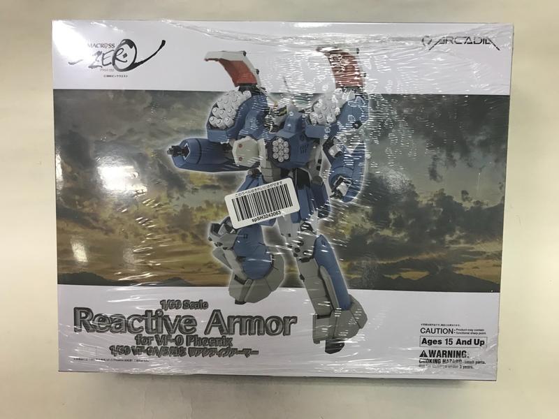 全新Macross 超時空要塞 Arcadia ZERO VF-0 Reactive Armor 對應裝甲 5000含運