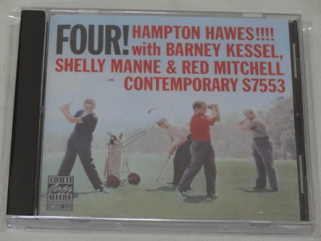 [老學校音樂館] Hampton Hawes - Four! 美版