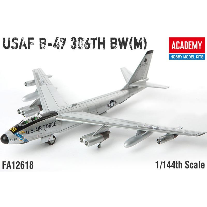 飛機19-FA12618/ 1/144 USAF B-47