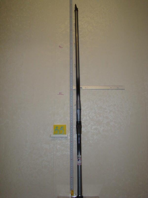 已賣出,待改其他商品,請勿下標,謝謝你 采潔 日本二手外匯釣具 磯鳴 4-530 NFT17尺半 磯釣竿  Z55