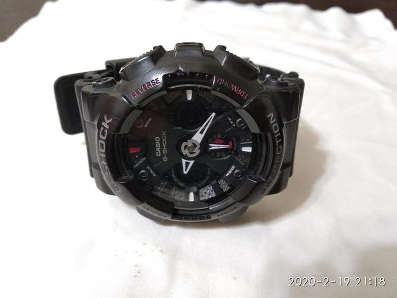 (( 鐵馬130)) CASIO G-SHOCK GA-120 手錶
