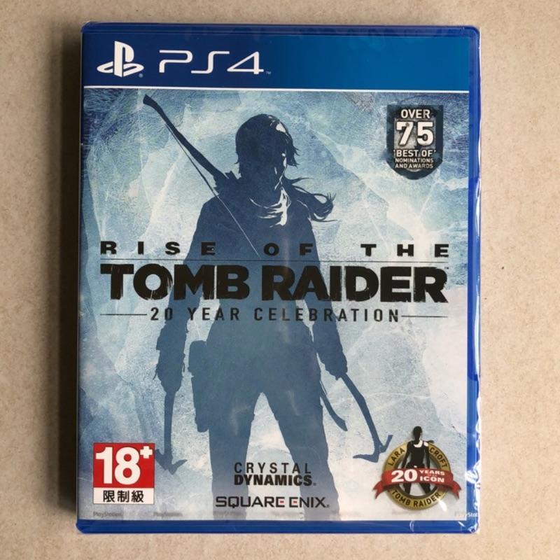 全新未拆 PS4 古墓奇兵 崛起  Rise of the Tomb Raider  中文版