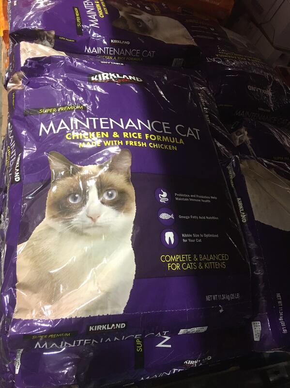 萬華平日上午自取免運費。好市多Costco紫包(雞肉+米) 貓飼料 11.34kg(25磅)