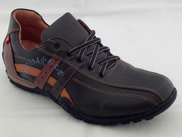 ╭♀小彩之家♀╮【贈鞋油】《Zobr路豹》B31A男真皮休閒運動鞋 走路鞋 咖棕色 全新 台灣製 採用彈性乳膠鞋墊