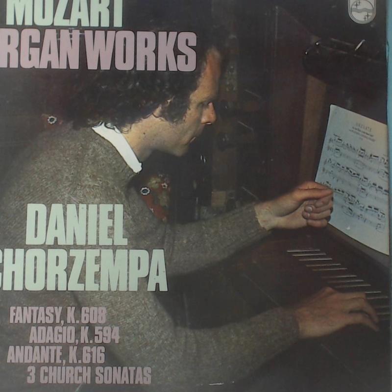 英版古典-PHILIPS/6500 598/柯爾森帕,管風琴/莫札特:幻想曲與賦格曲/溫夏曼-指揮