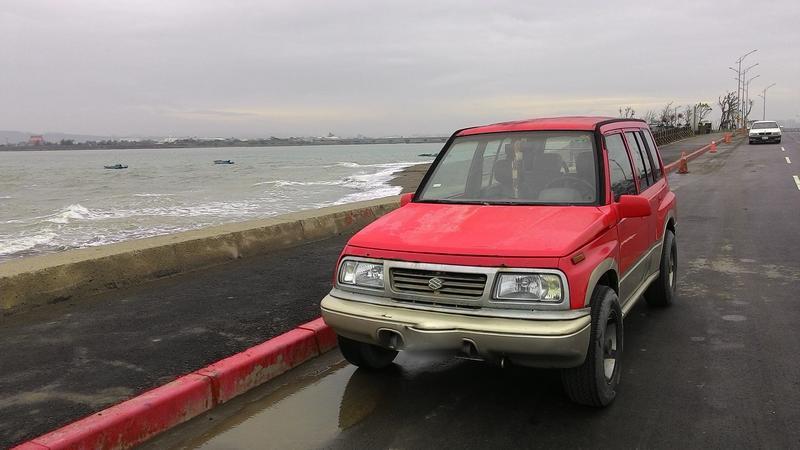 金吉星 吉星 吉普車 機械四輪傳動4X4四傳五門 多噴 日本製造1600CC露營車 貨車4WD省油 省稅 自排 多噴