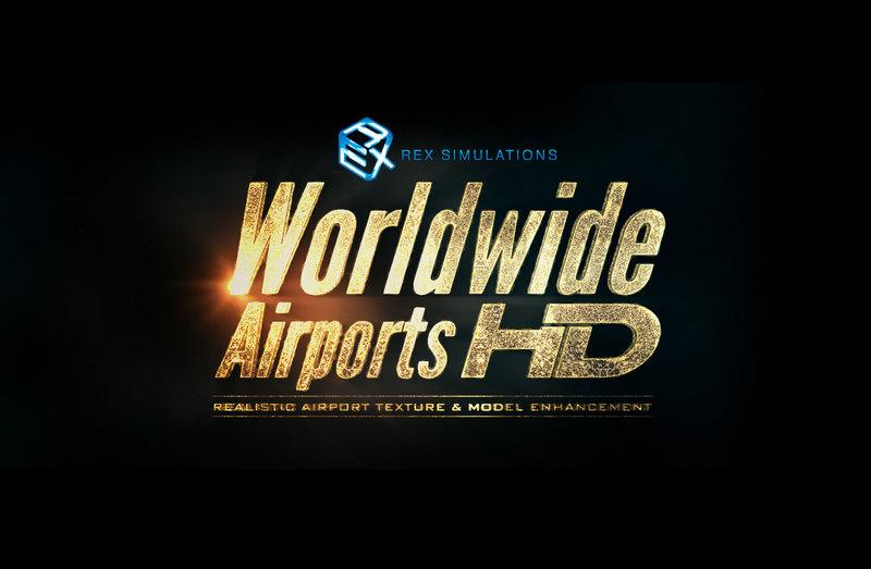 特價 REX Worldwide Airports HD For FSX Prepar3D 下載版