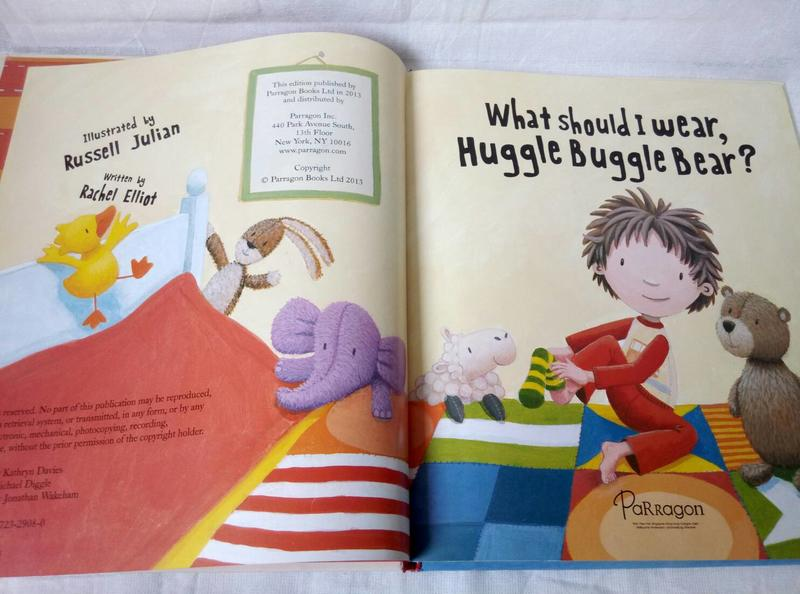 【吉兒圖書】預售/精裝《What Should I Wear, Huggle Buggle Bear?》趣味穿衣習慣養成