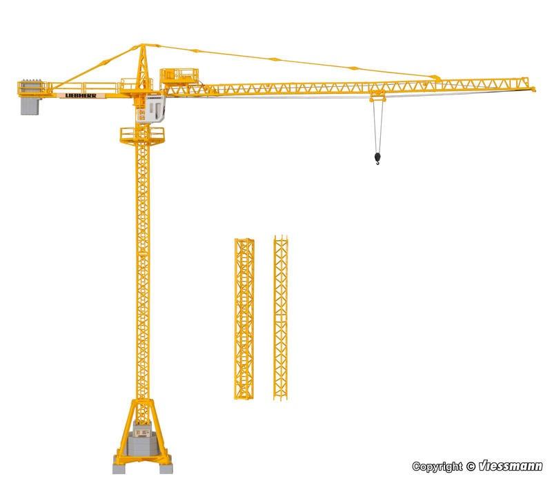 MJ 預購中 Kibri 10202 HO規 LIEBHERR tower crane 塔式起重機