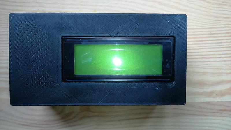 3D列印 LCD2004+W5100 Arduino UNO CASE 外殼 LCD20x4電子萬用盒Arduino開發