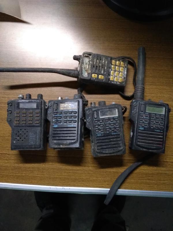 (萊)故障未測無線對講機5隻不擔保可使用