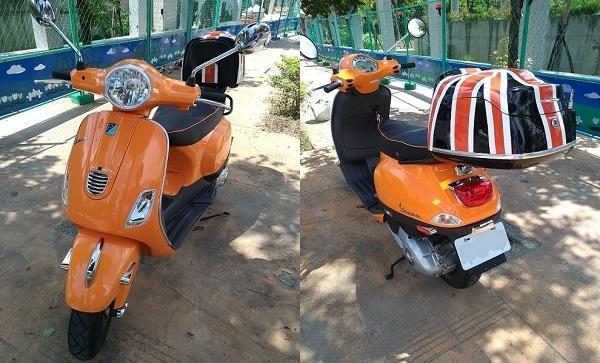機車摩托車 後尾箱 後置物箱 可客製化