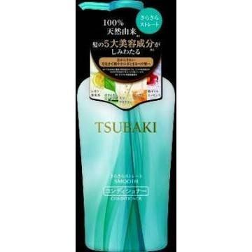 日本 資生堂 TSUBAKI 山茶花潤髮乳 清爽直順潤髮乳 450ml 花果香 461745 潤澤秀髮專用