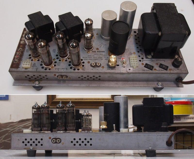 Fisher 480A 美國製 真空管 後級擴大機 老管機 古董管機 [台南珍古]
