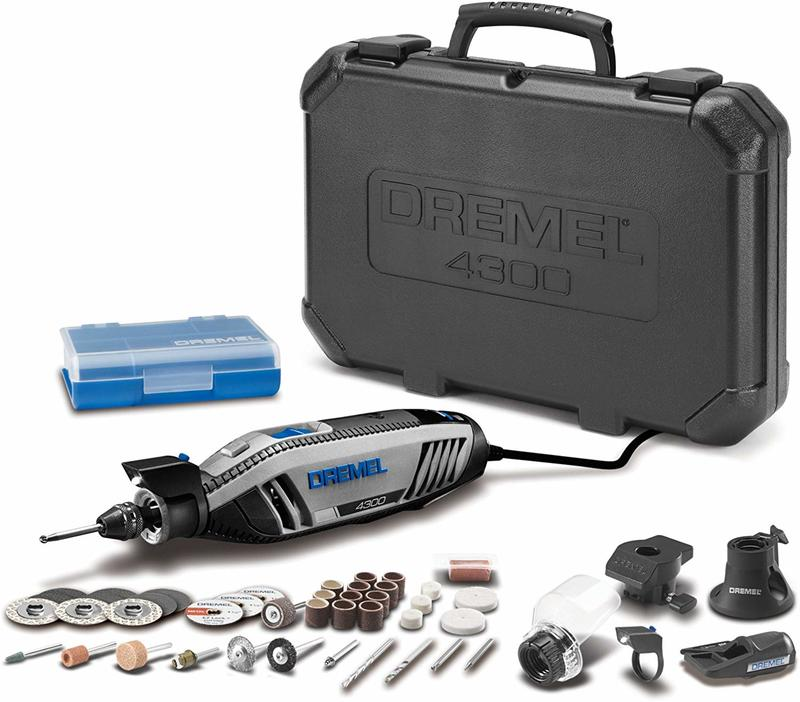 【i代購】旗艦版 Dremel 4300<請先詢價,價格會波動>電動雕刻機刻磨機40配件組,比3000 4000強