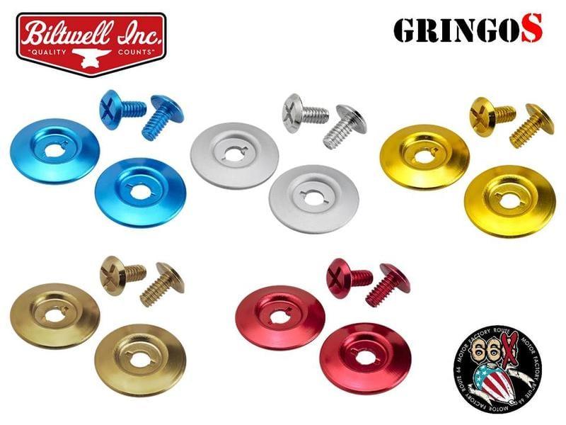 《美式工廠》美國 Biltwell GringoS 專用 鏡片座螺絲組 共5色