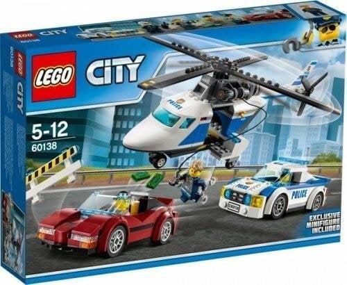 LEGO 60138 Police High Speed Chase 原廠貨