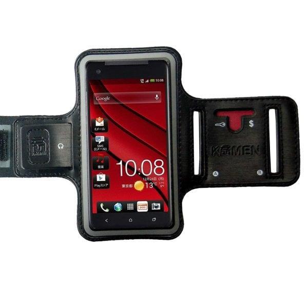 KAMEN Xction 甲面 X行動HTC Butterfly專用運動臂套HTC J Butterfly S運動臂帶