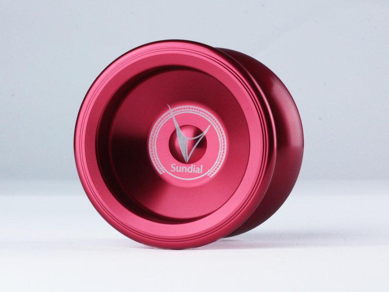 Sundial 日晷 豔紅色 競技專用 競技 初學 教學 教材 國產 全金屬 航太金屬 溜溜球 奇妙 yo-yo