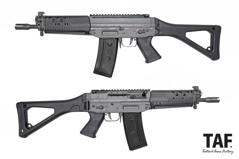 【TAF 客製槍現貨】GHK - SIG  553 刻字版 GBB瓦斯步槍 (CERAKOTE版)