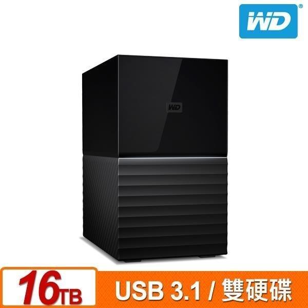 @電子街3C 特賣會@全新 現貨!!! WD My Book Duo 16TB(8TBx2) USB3.1雙硬碟儲存