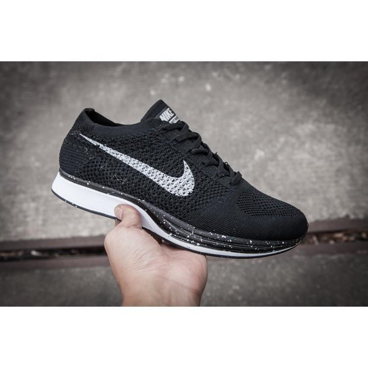sports shoes 3d526 25d22 {實拍}NIKE FLYKNIT LUNAR ONE 編織 飛線 輕量 慢跑鞋 跑步鞋 黑銀 男女款
