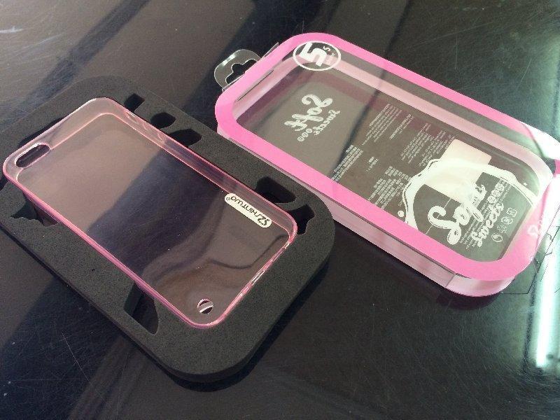 *V&C潮流*原廠Skin-two Soft 粉軟糖全透彩TPU軟套 APPLE iPhone5S iPhone 5S 背殼 保護殼 保護套 手機殼 可加購螢幕保護貼60起