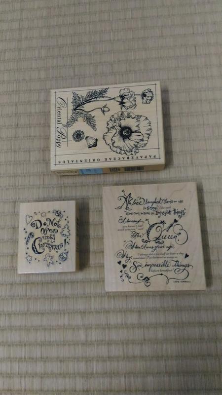 貝登堡 美國木頭 藝術印章 文字 圖 絕版章
