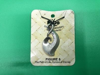{德夏藝品}紐西蘭原裝進口--當地原住民毛利人最具代表錫製的雕刻藝術項鍊!