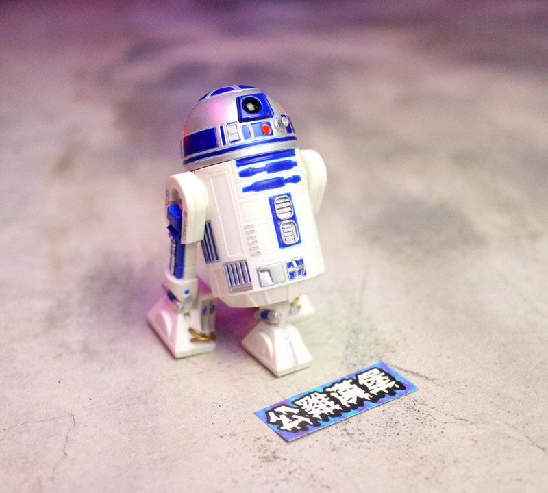 「Starwars Star Wars 星際大戰 玩具 公仔 擺飾 R2D2 約11cm @公雞漢堡」