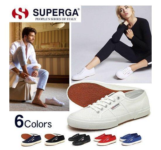 免運 意大利國名品牌 Superga 2750 百搭 厚底 男女情侶鞋 休閒 帆布鞋  正品代購