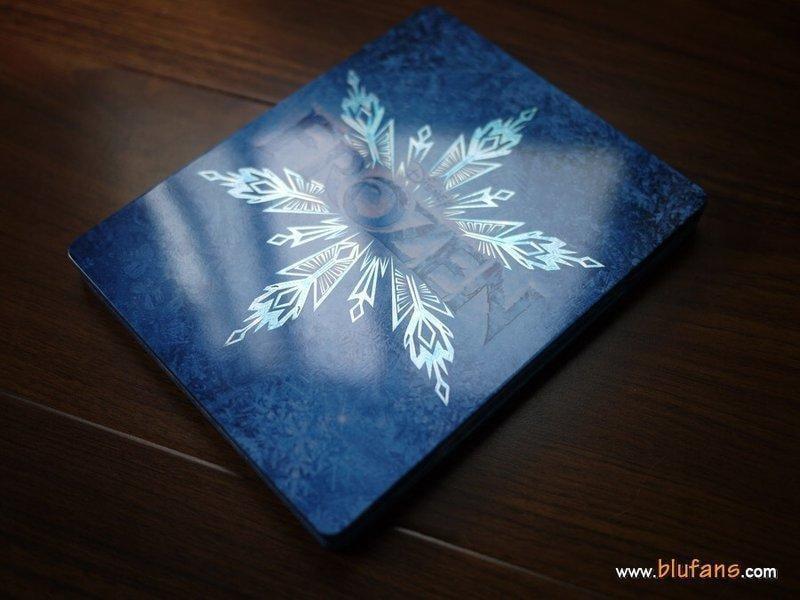 【AV達人】【BD藍光3D】冰雪奇緣3D+2D+DVD+CD四碟終極鐵盒版ELSA/ANNA姊妹相逢版Frozen
