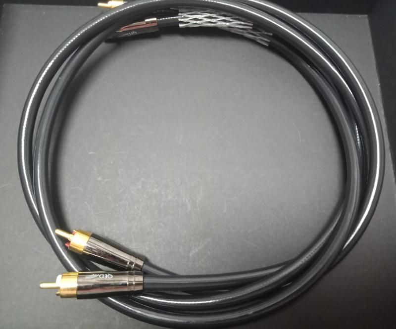 QED Performance Audio 40 RCA 訊號線_1.0m(40週年)
