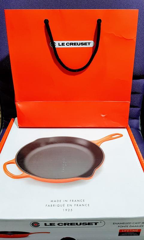 免運費特價 -  法國製 Le Creuset 鑄鐵平底煎鍋 20cm 海岸藍 平底鍋 鑄鐵鍋