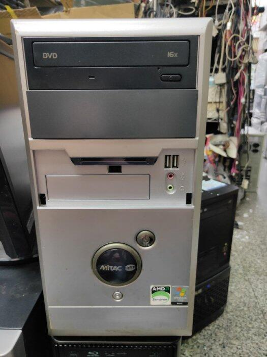 【電腦零件補給站】Windows XP 桌上型電腦 (AMD Sempron 3000+/1G/80G/DVD光碟機