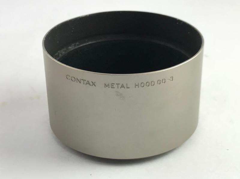 CONTAX GG-3 原廠金屬遮光罩 正品 46mm ( G90 G1 G2 可使用)