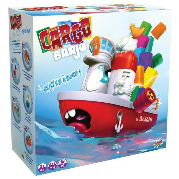 搖搖貨櫃船 桌遊 派對遊戲 益智  代理現貨K