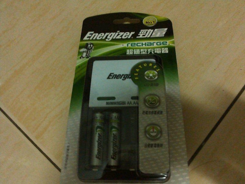 勁量超值型充電器含2顆700mah四號電池