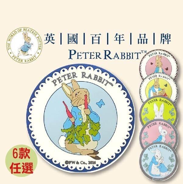 比得兔浮雕圖案橡膠杯墊粉紅色跑兔藍色防水藝術杯墊彼得兔桌墊餐墊墊隔熱墊防滑墊止滑桌墊餐墊