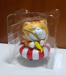 全家 單售隱藏版-好可愛 白爛貓迴力車!!最愛那條魚!禮物 全新現貨盒裝 擺飾 玩具 好心情