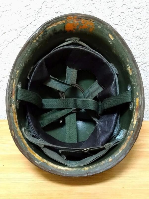 全台唯一!! 印度軍 M74 防彈頭盔 (國軍 德軍 美軍 鋼盔 刺刀 防毒面具 AK)