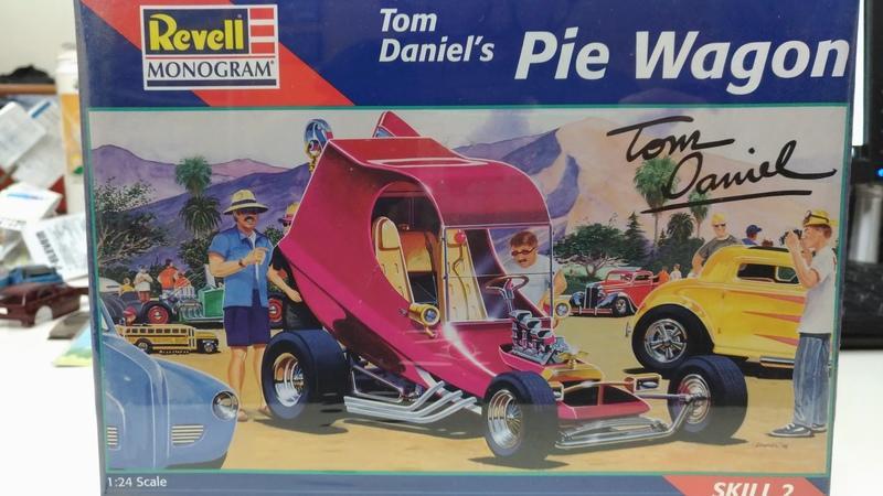 Revell  超稀有模型 pie wagon 美式改裝