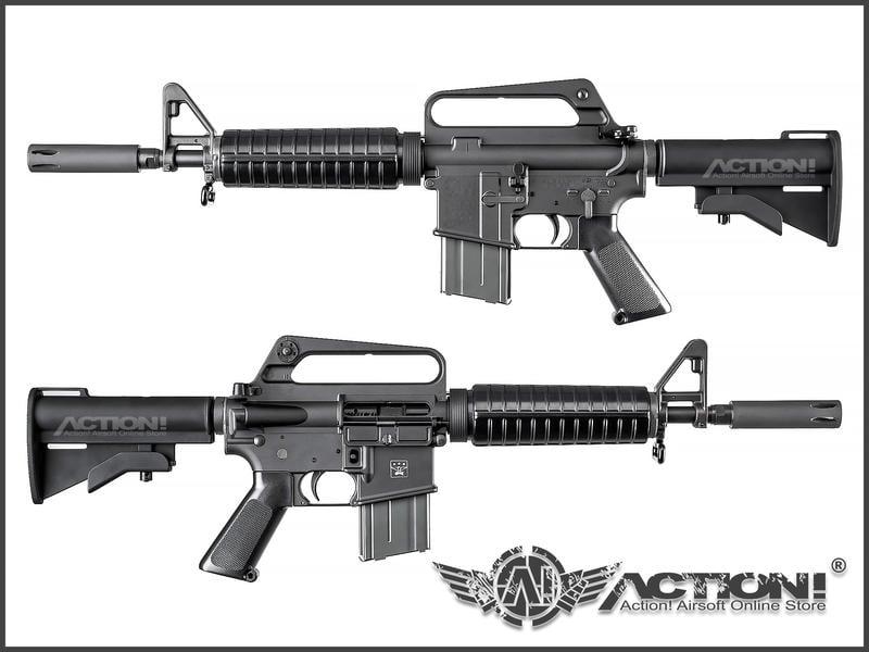 【Action!】售完)CAR - XM177E1 / Mod 609型 GBB氣動槍