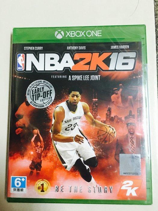 XBOX ONE 遊戲 NBA 2K16 / 美國職籃 2K16 中英文版(全新未拆)