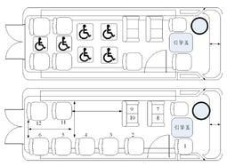 13人座中型復康巴士